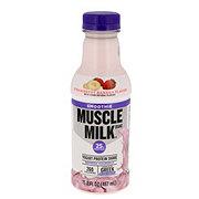 Muscle Milk Smoothie, Strawberry Banana Yogurt Protein Shake