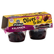 Musco Family Olive Co. Pearls Kalamata Pitted Greek Olives To Go! Cups