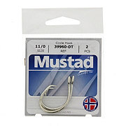 Mustad 39960-DT Circle Hook, Size 11/0