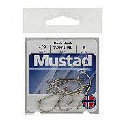 Mustad 92671-NI Beak Hook, Size 1/0