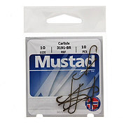 Mustad Carlisle 3191-BR Hook, Size 10