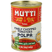 Mutti Finely Chopped Tomatoes with Onion, Garlic & Basil