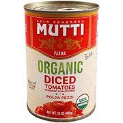 Mutti Organic Chopped Tomatoes