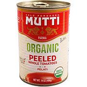 Mutti Organic Whole Peeled Tomatoes