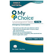 My Choice Emergency Contraceptive Levonorgestrel Tablet