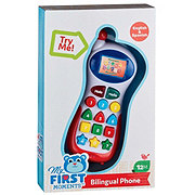 My First Moments Bilingual Phone