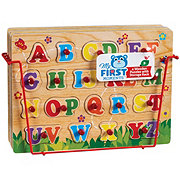 My First Moments Wooden Puzzle Set With Rack
