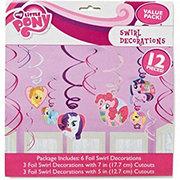 My Little Pony American Greetings My Little Pony Friendship Swirl Decor
