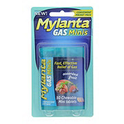 Mylanta Gas Minitabs, Assorted Fruit Flavor