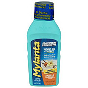 Mylanta Maximum Strength Liquid, Creamy Vanilla