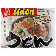 Myojo Beef Flavor Japanese Style Udon Noodles With Soup Base