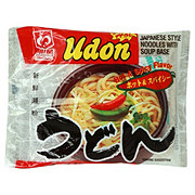 Myojo Udon Hot & Spicy Japanese Style Noodles with Soup Base