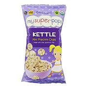 MySuperPops Organic Kettle Mini Popcorn Chips