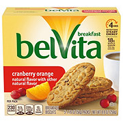 Nabisco Belvita Cranberry Orange Breakfast Biscuits