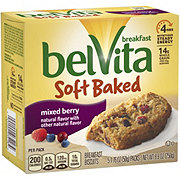 Nabisco Belvita Soft Baked Mixed Berry Breakfast Biscuits