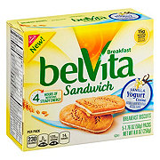 Nabisco Belvita Vanilla Yogurt Breakfast Sandwich Biscuits
