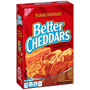 Nabisco Better Cheddars Original Baked Snack Crackers