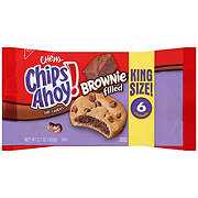 Nabisco Chips Ahoy! Chewy Brownie Filled Cookies King Size!