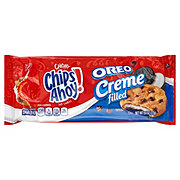 Nabisco Chips Ahoy Chewy Oreo Creme Filled Soft Cookies