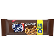 Nabisco Chips Ahoy Chunky Chocolate Chip Cookies King Size