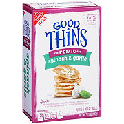 Nabisco Good Thins The Potato One Spinach & Garlic Crackers