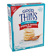 Nabisco Good Thins, the Rice One Poppy & Sesame Seed