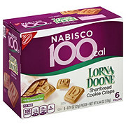 Nabisco Lorna Doone 100 Calorie Shortbread Cookie Crisps