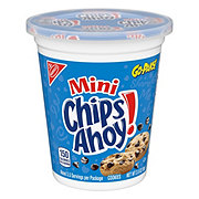 Nabisco Mini Chips Ahoy! Go-Paks! Real Chocolate Chip Cookies