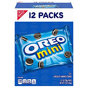 Nabisco Mini Oreo Chocolate Bite Size!  Sandwich Cookies