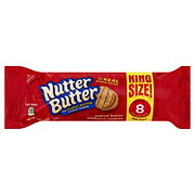 Nabisco Nutter Butter Peanut Butter Sandwich Cookies King Size!