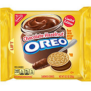 Nabisco Oreo Chocolate Hazelnut Sandwich Cookies