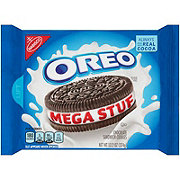 Nabisco Oreo Chocolate Mega Stuf Sandwich Cookies