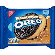 Nabisco Oreo Chocolate Sandwich Peanut Butter Creme Cookies