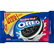 Nabisco Oreo Double Stuf Chocolate Sandwich Cookies Family Size