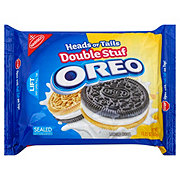 Nabisco Oreo Double Stuf Heads Or Tails Sandwich Cookies
