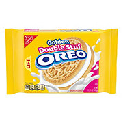Nabisco Oreo Golden Double Stuf Sandwich Cookies