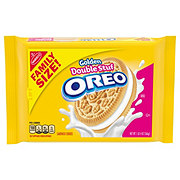 Nabisco Oreo Golden Double Stuf Sandwich Cookies Family Size!