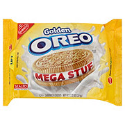 Nabisco Oreo Golden Mega Stuf Sandwich Cookies