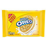 Nabisco Oreo Golden Sandwich Cookies Family Size