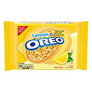 Nabisco Oreo Lemon Twist Flavor Creme Sandwich Cookies