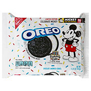 Nabisco Oreo Limited Edition Mickey Mouse Birthday Cake Sandwich Cookies