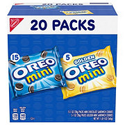 Nabisco Oreo Mini Mix Sandwich Cookies Variety Pack