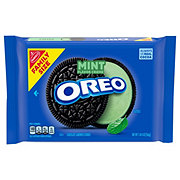 Nabisco Oreo Mint Creme Sandwich Cookies Family Size!