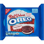 Nabisco Oreo Red Velvet Cream Cheese Creme Sandwich Cookies