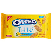 Nabisco Oreo Thins, Lemon