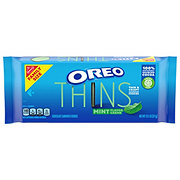Nabisco Oreo Thins Mint Sandwich Cookies Family Size!