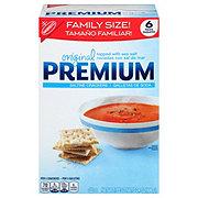 Nabisco Premium Original Saltine Crackers Family Size!