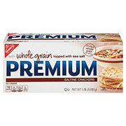 Nabisco Premium Whole Grain Saltine Crackers