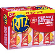 Nabisco Ritz Peanut Butter Cracker Sandwiches Family Size