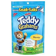 Nabisco Teddy Grahams Mini Honey Graham Snacks Snak-Saks